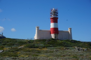 The lighthouse at L'Agulhas