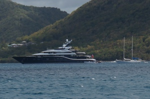 The Superyacht - with toys!