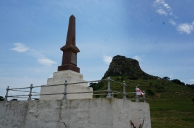 Evidence of the Barmy Army's visit to Isandlwana